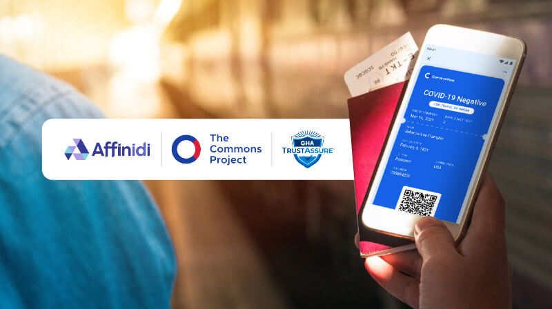 Commonpass, Trustassure and Affinidi announce global solution for end-to end health status verification for international travel