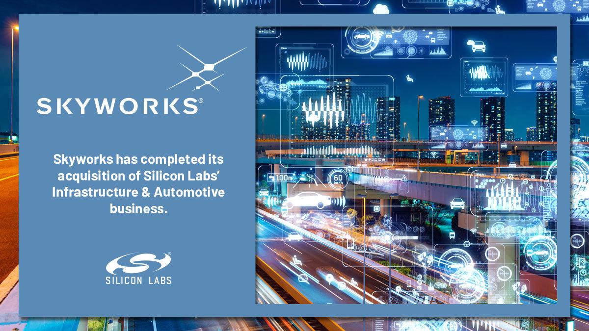 Skyworks Completes Acquisition of RF Pixels