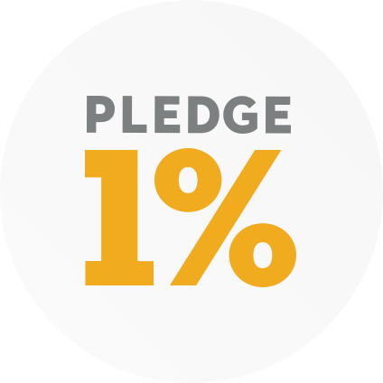 Pledge 1% Logo
