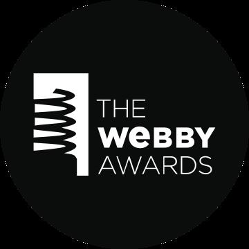 The Webby Awards winner badge