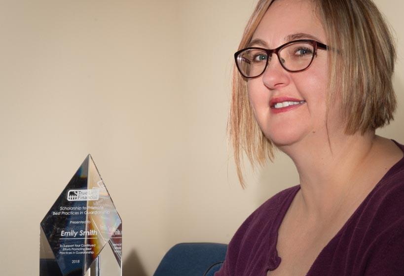 Emily Smith and True Link Award