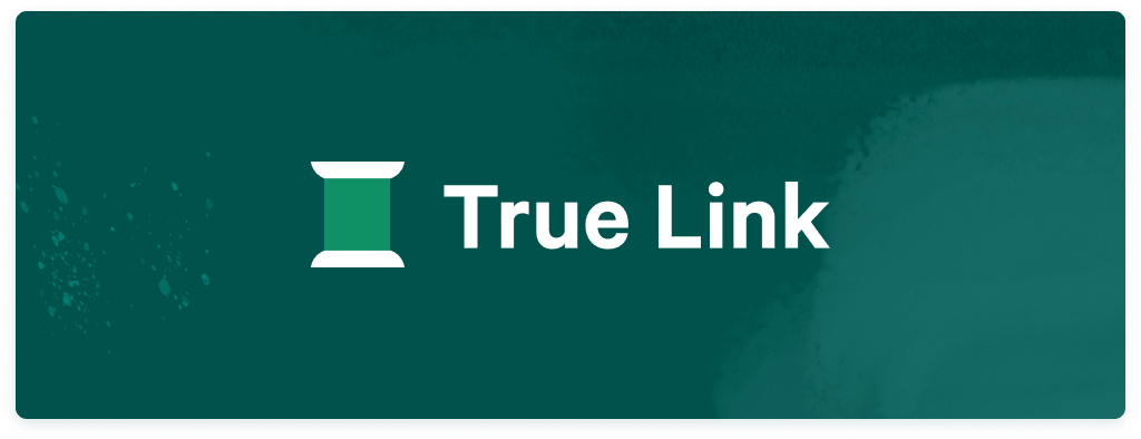 A graphic illustrating the True Link redesign