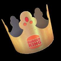 Burger King crown.