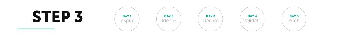 Bundl Design Sprint Step 3