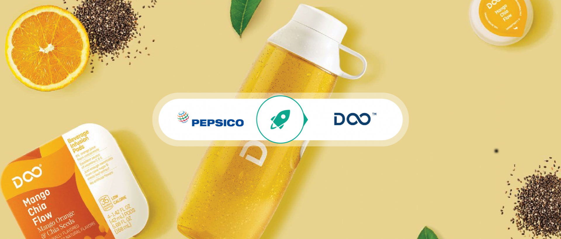 PepsiCo aims to reinvent the way people drink with a new beverage tailored to Millennials