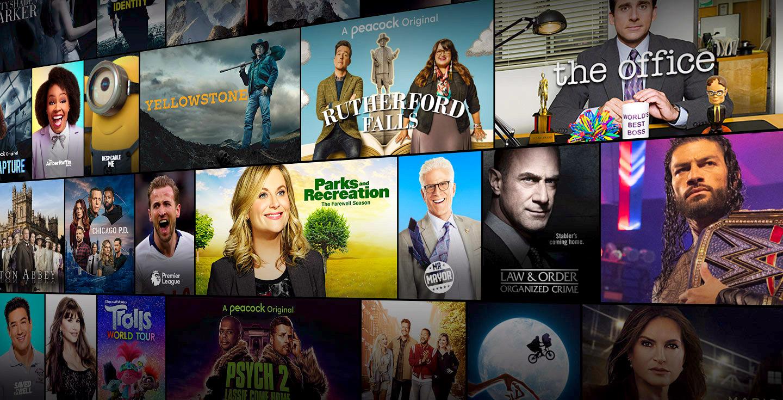 Peacock TV NBC Universal corporate venture