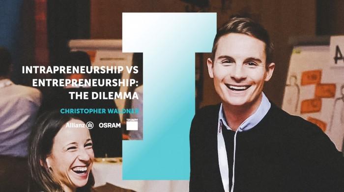Intrapreneurship VS Entrepreneurship: The Dilemma — Intrapreneur Stories #3