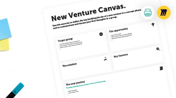 New venture canvas
