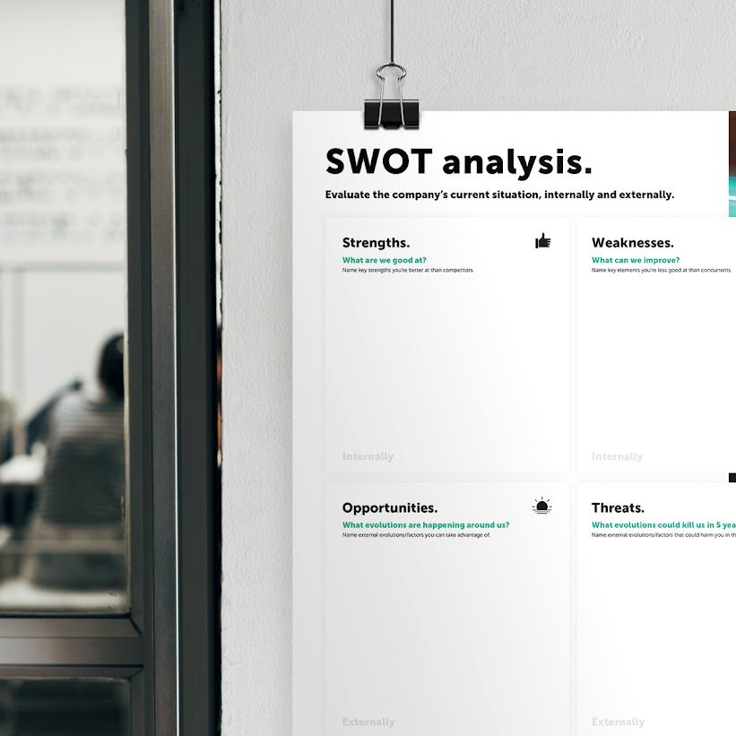 SWOT canvas header