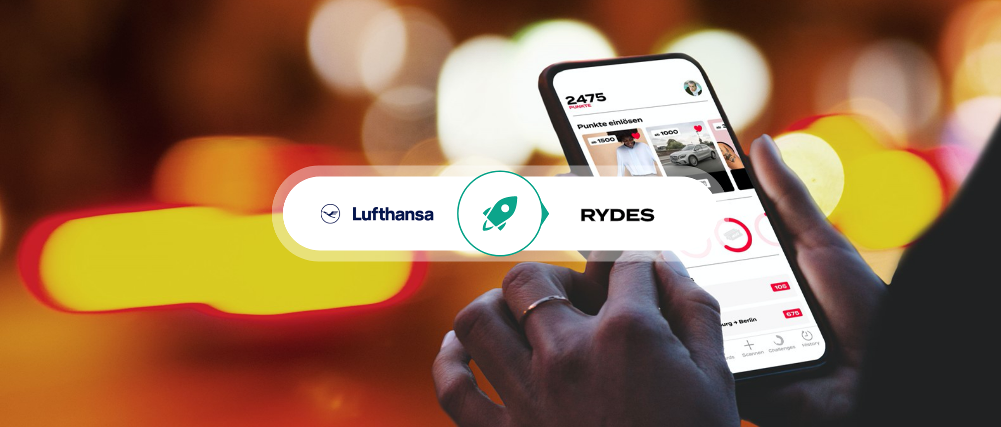 Lufthansa's RYDES: A New Way of Looking at Mobility Rewards