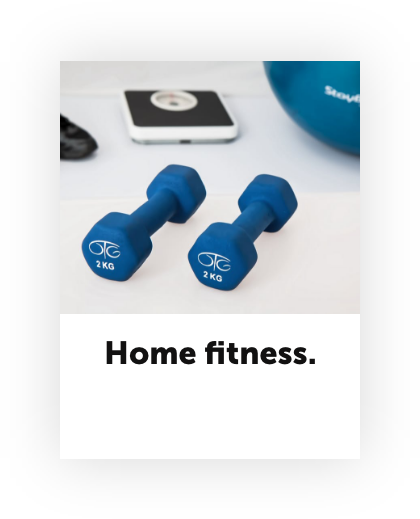 Stay at home economy home fitness
