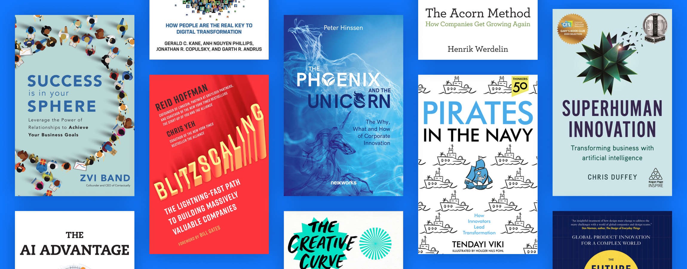 15 books every corporate entrepreneur should read in 2021