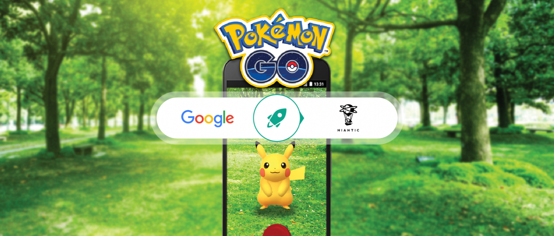 Did you know that Google was behind the company that created Pokémon Go?