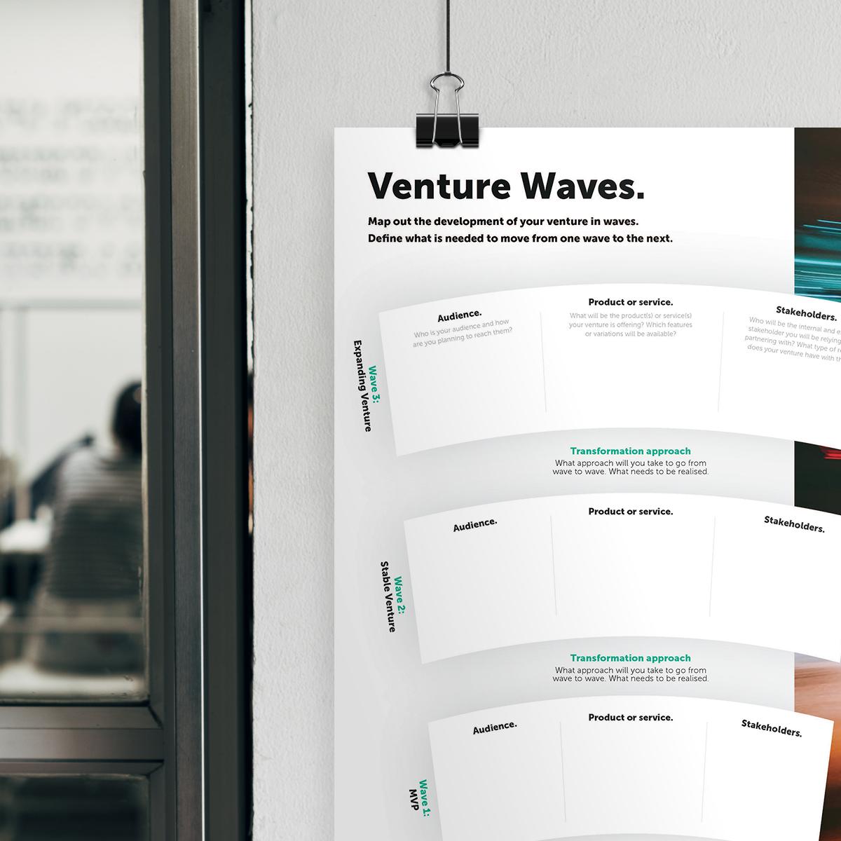 Venture roadmap header
