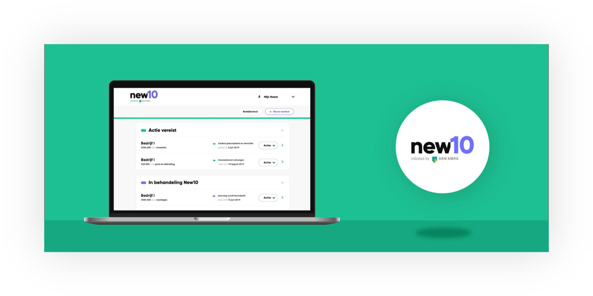 ABN AMRO new10 desktop