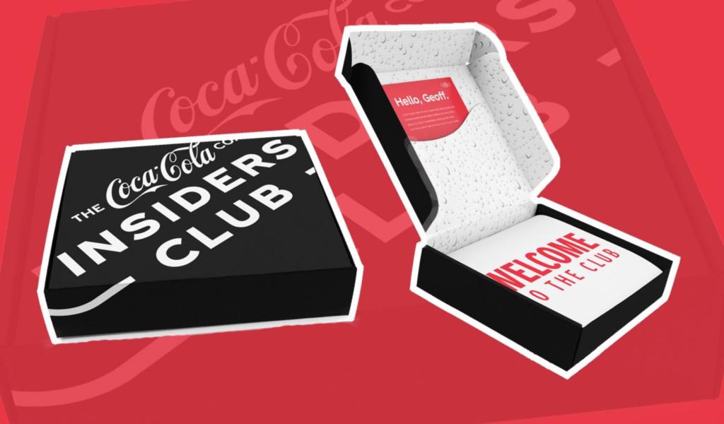 Coca cola D2C move