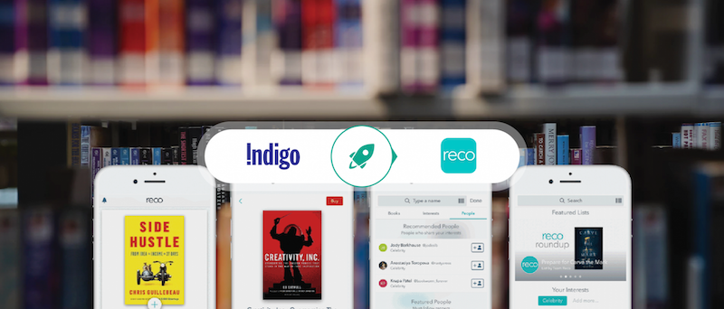 Indigo's RECO app: Connecting Book Lovers Everywhere Through the Magic of Words