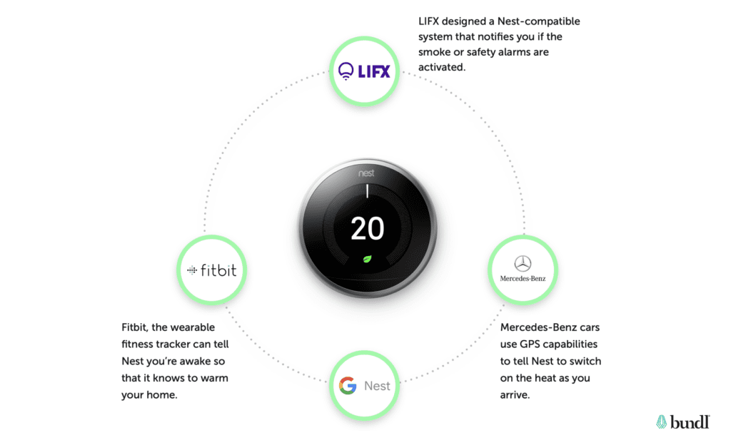 Google Nest as an example for ecosystem