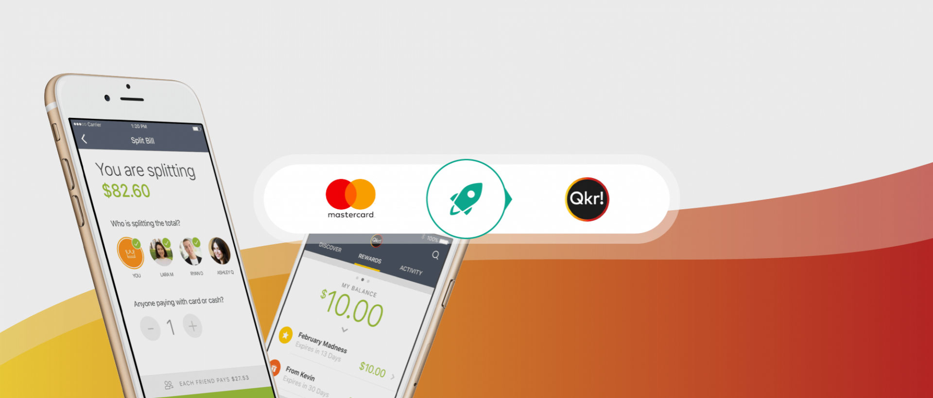 MasterCard is staying on top of the mobile payment game with Qkr by Masterpass