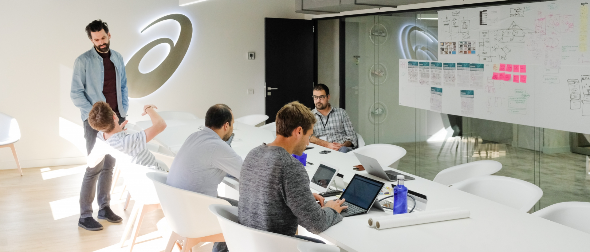 How we used a design sprint to boost ASICS' corporate startup