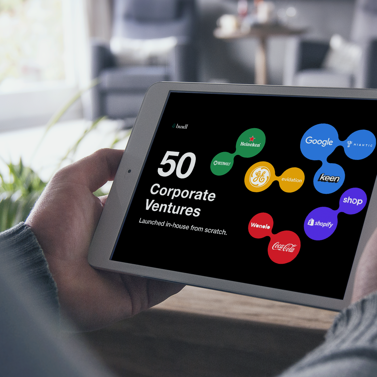 50 Corporate venture examples.
