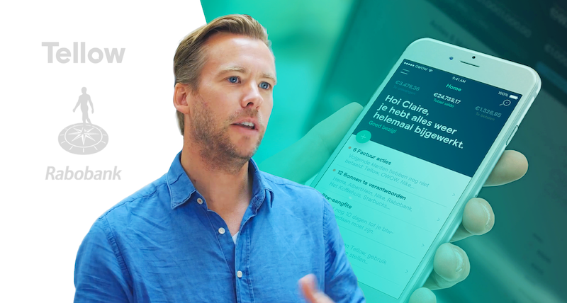 Tellow – a bookkeeping app for freelancers – built by Rabobank in less than 1 year