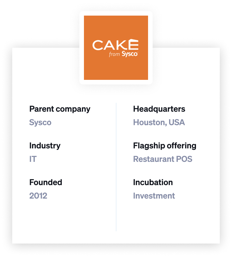 sysco cake company profile