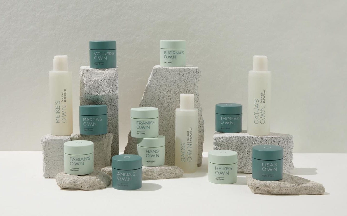 A simplified, personalised, and planet-conscious skincare routine.