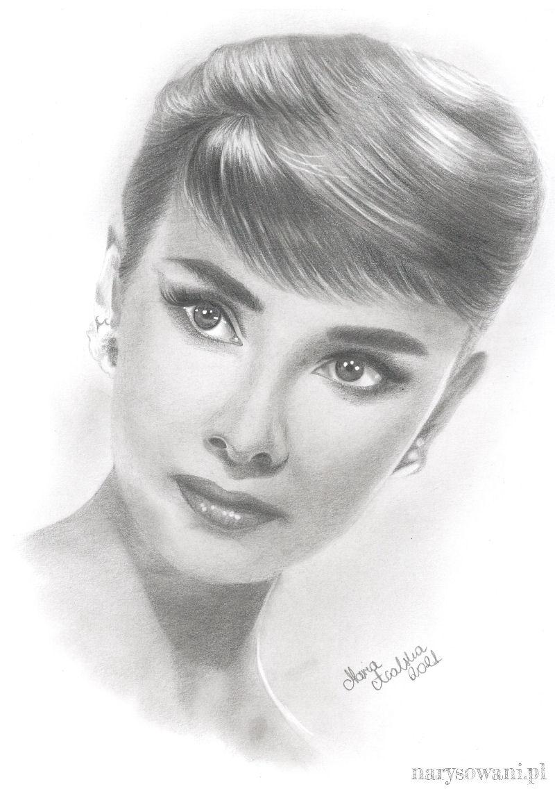 Portret pięknej młodej kobiety o szlachetnej, delikatnej urodzie.