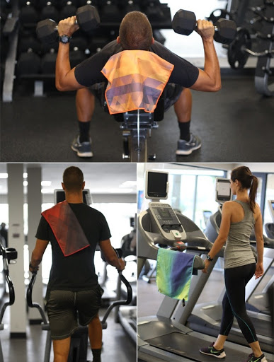 Staying Clean At The Gym With A Towel