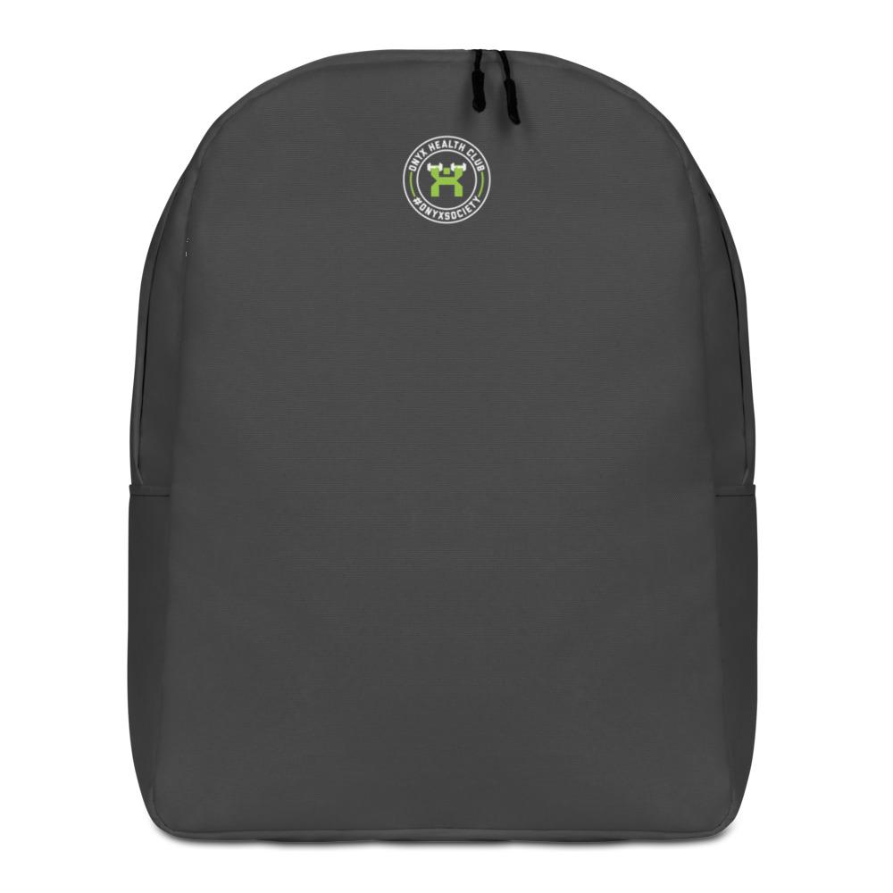 ONYX Black Minimalist Backpack