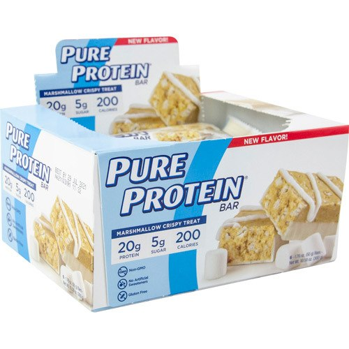 Pure Protein Protein Bar Marshmallow (6 Bars)