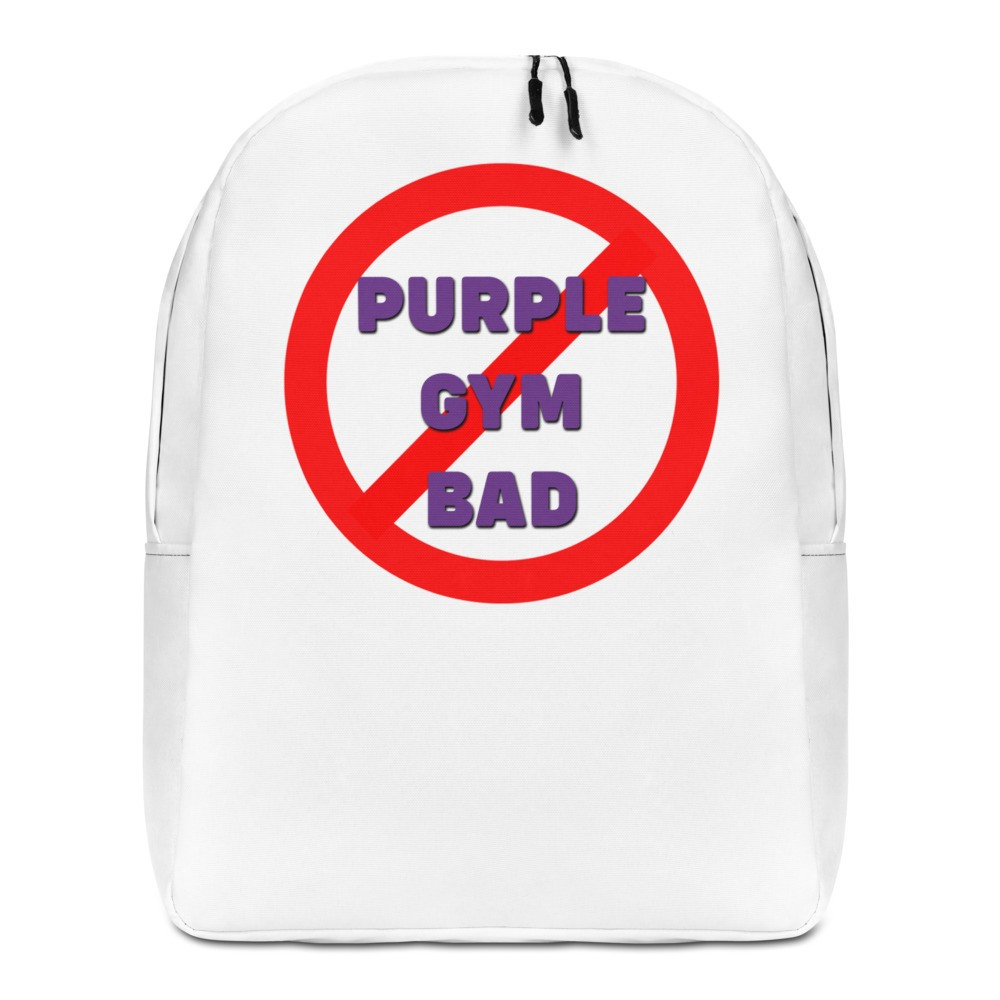 "ONYX ""Purple Gym Bad"" Backpack"