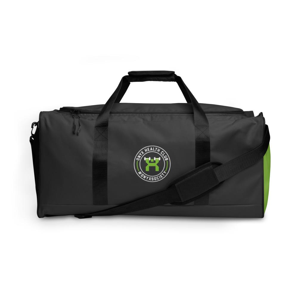 ONYX Black & Green Duffle bag