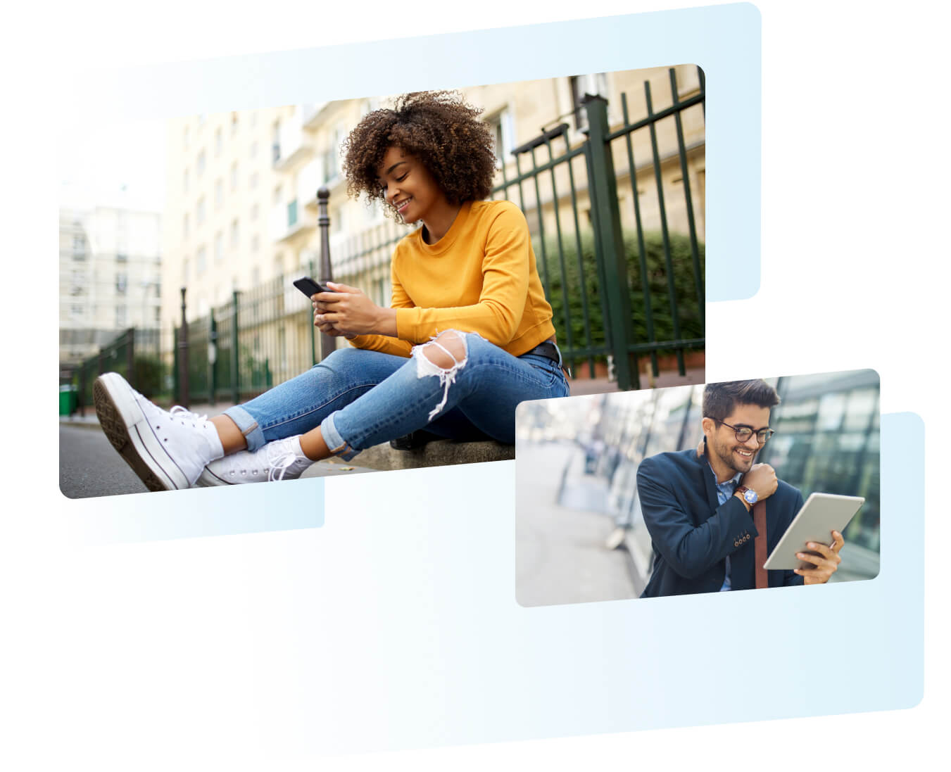 Happy subscribers using multiple devices