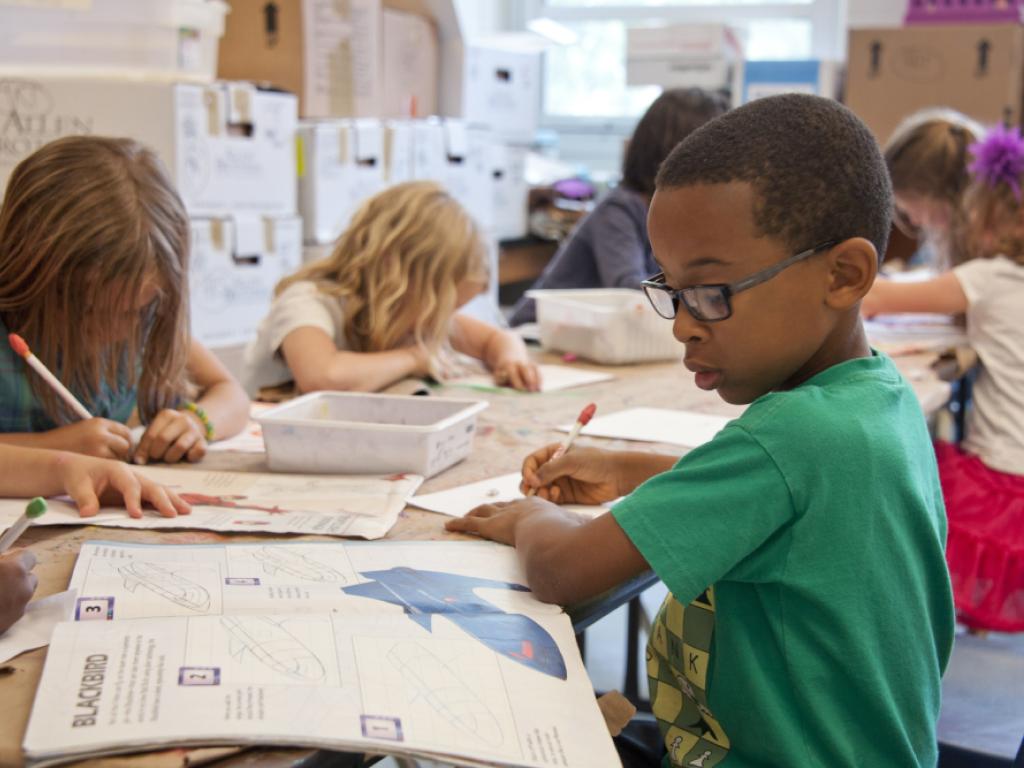 aluno vivencia educação integral na escola