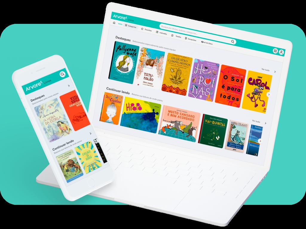 Ajude a preparar seus alunos para o futuro por meio da leitura. Preencha o formulário no site e saiba como levar a Árvore para sua escola!
