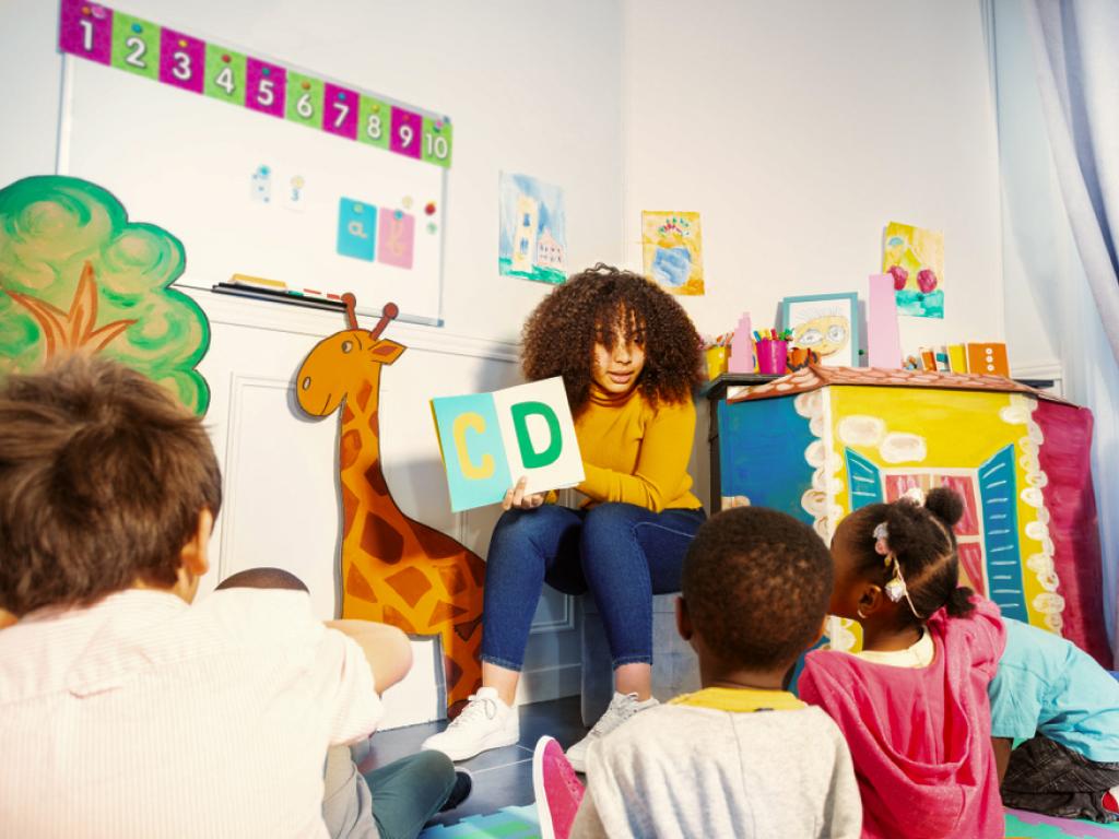 contação de histórias na educação infantil