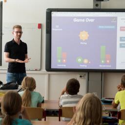sala de aula interativa