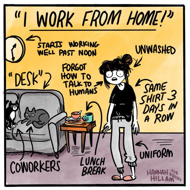8 things I won't miss working from home (Once we get back to the office!) | peopleHum