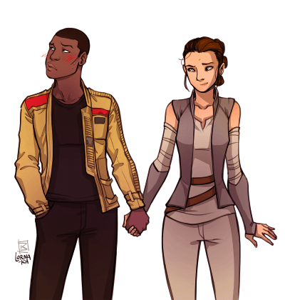 Rey & Finn of Star Wars docked 40% on year-end performance review | peopleHum