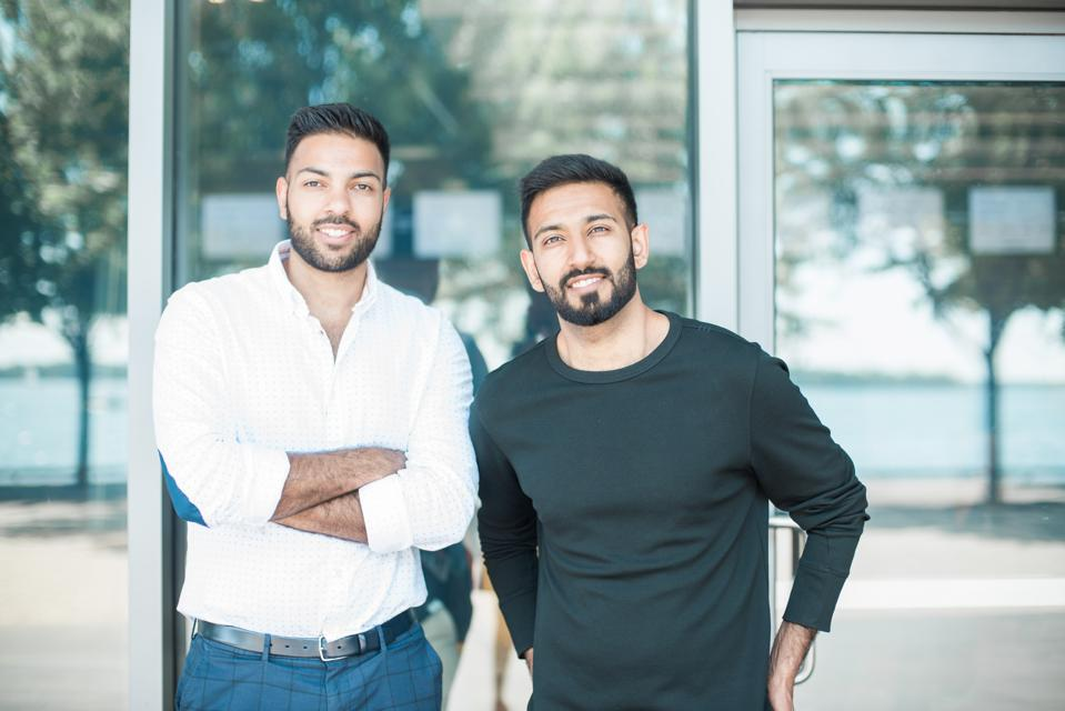 Nadeem and Navid Nathoo, co-founders of The Knowledge Society.