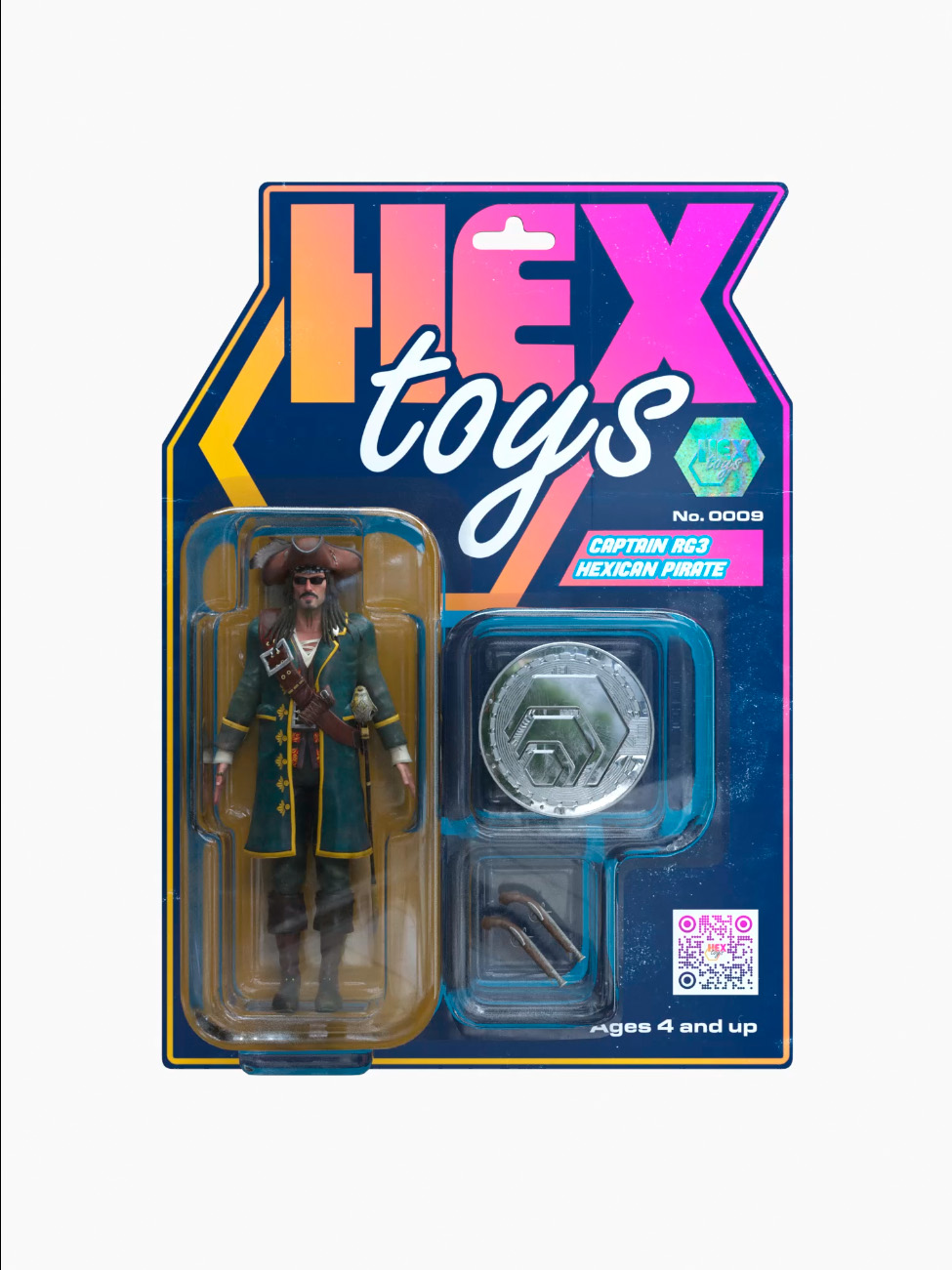 CAPTAIN RG3 HEXICAN PIRATE