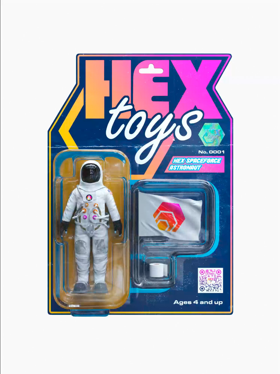 HEX SPACE FORCE ASTRONAUT