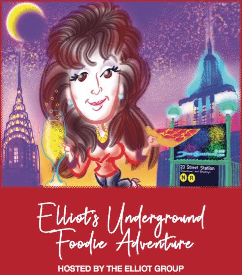 Elliot Underground Foodie Adventure poster.