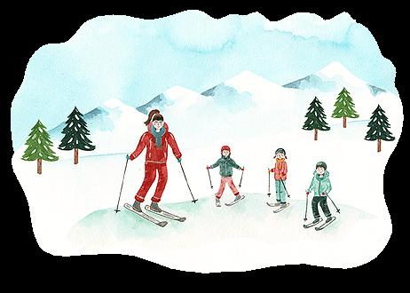 Conciergerie cours de ski Megève