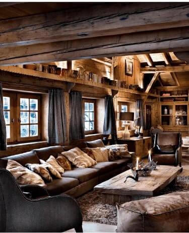 Location chalet de luxe Hauite Savoie