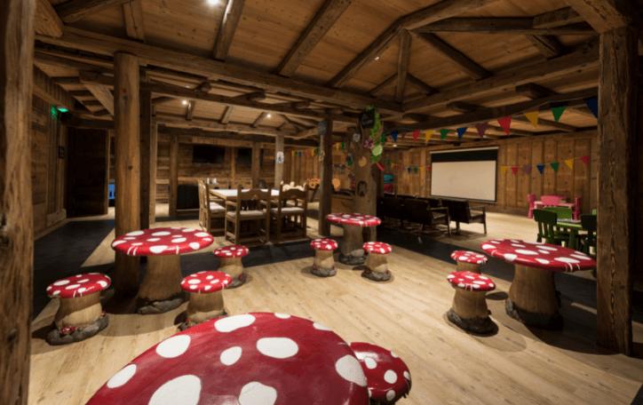 Hôtel avec Kids's club à Megève - Les Fermes de Marie