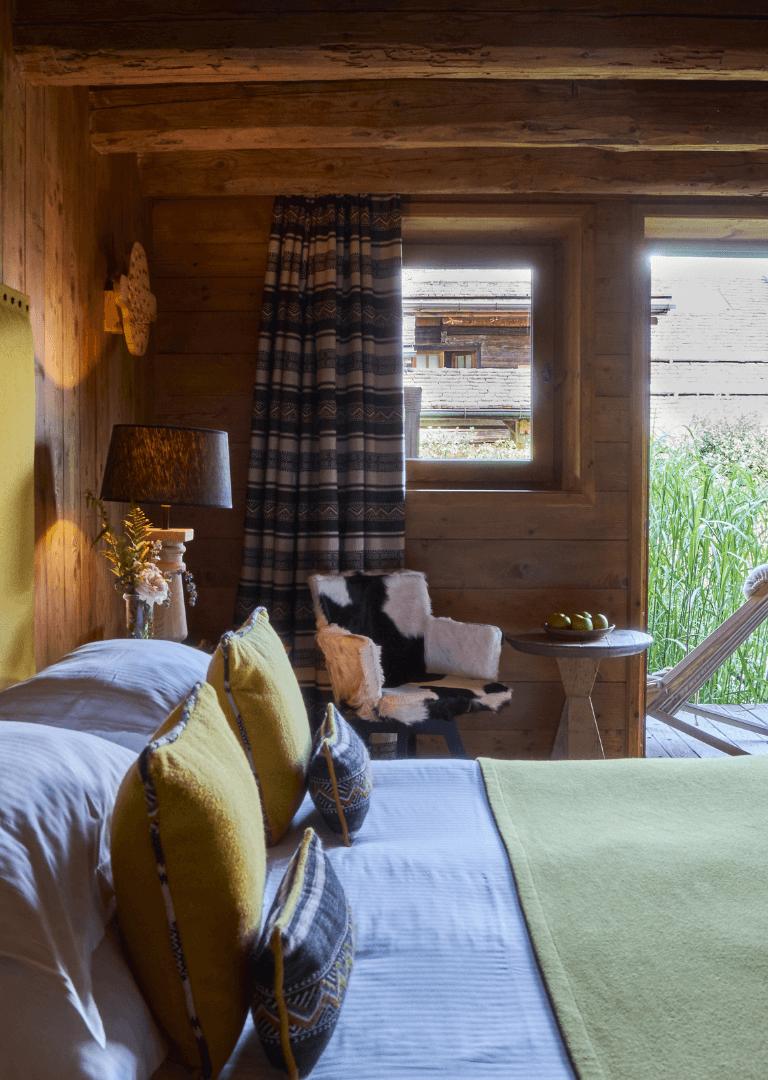 Chambres & suites Hôtel Megève - Les Fermes de Marie