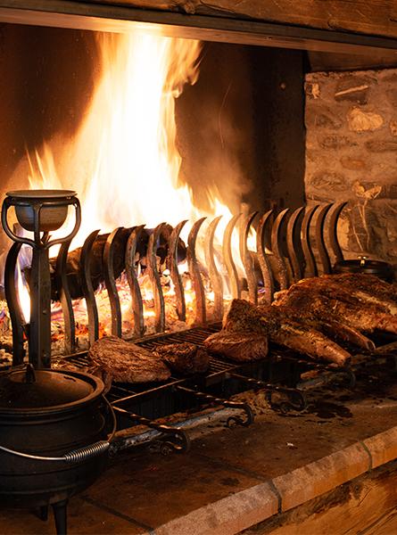 Barbecue O'Fyre Fermes de Marie